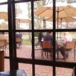 Lovely patio dining at The Cafe at Longwood!