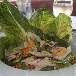 Great Ceaser Salad at Angels