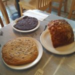 Delicious humongous baked goods!