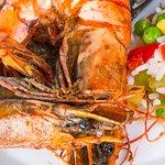 Tandoori king prawn