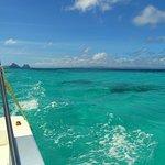 Look at that crystal clear Palawan water