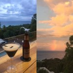 Sunset drinks at The Whales Way
