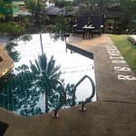 swimming pool for a cool dip
