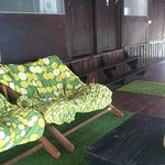 relax area for dormitory
