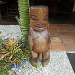 Tangaroa God - entrance to the restaurant