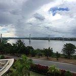 Zambezi river from room in the VIP Hotel.