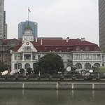 The Russian Consulate overlooking the Suzhou Creek