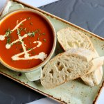 Warming home made soups