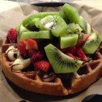Bavarian waffle