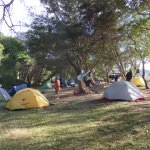 Campsite at Onetahuti
