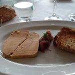 Foie Gras et son confit d'oignon