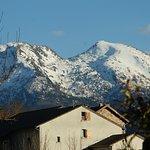 le village d'ignaux est en pleine montagne