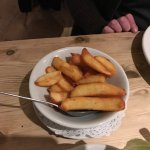 Yummy scrumpy food and the best chips I have ever eaten.