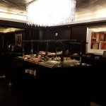 Club lounge evening buffet