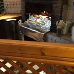 Powerful woodfire oven without smoke smell in the backward dining area 👍🏻