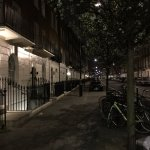 Ebury Street by night