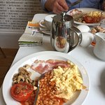 Full english breakfast :-)