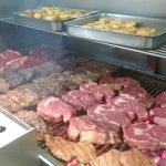 autentica carne argentina a las brasas(entrecot,bife de chorizo,solomillo)