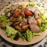Des salades énooooooormes et délicieuses