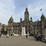 External view from George Square