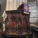 Pulpit of Bath Abbey