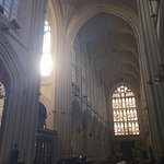 Bath Abbey from the inside