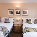 Comfortable ensuite twin bedroom