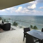 Honeymoon suite on the beach 4th floor. Great views and nice room