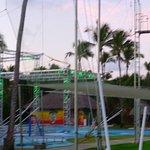 Infrastucture pour le Cirque du soleil