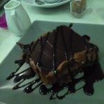 τσιζ κέικ σοκολάτας