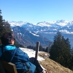 LOVE TO SIT YEAR FOR WHOLE LIFE- WALKING ROUTE FROM RIGI KALBARD