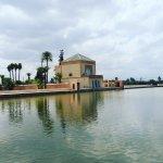 bassin et pavillon de la Menara
