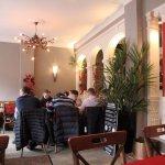 Inside this restaurant