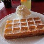 A natural waffle