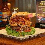 Insane BBQ Burger
