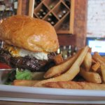 Our 1/2 pound burgers will definitely impress yu at Taverne on the Square
