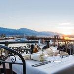 Mediterrane Küche am wunderschönen Zürichsee