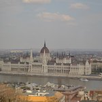 The Danube & The Parliament from the dining room.