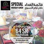 Lunch Offer SAR 64 Tel# +966 13 8945050