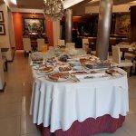 Desayuno en resto del Hotel