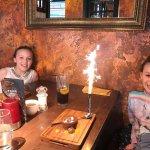 Complimentary birthday cakes