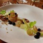 Foie Gras Waldorf Salad
