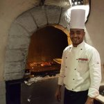 Jobos Grill Master Chef Salah. Come on by for a delicious meal from our BBQ!
