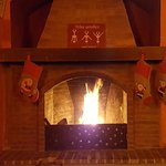 Our VIP room complete with fire place to keep you warm on those chilly winter evenings.