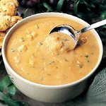 Shrimp and Lobster Bisque - it's decadent!