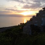 Early morning sunrise on the Sea of Galilee.