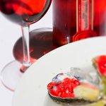 vodka cranberry pomegranate oysters