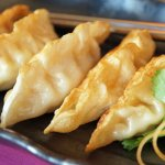 Gyoza - Japanese pan-fried chicken dumpling