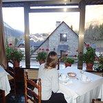 Desayuno con vistas al valle
