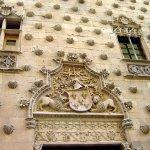 facade of Casa de las Conchas Salamanca © Robert Bovington